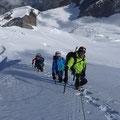 Alpinisme au Dom des Mischabel, Matthieu Brignon Guide à Aussois, Haute-Maurienne