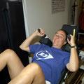 ...trainiert seit vielen Jahren wöchentlich in der Physiotherapie Andreas Mühlheim GmbH.