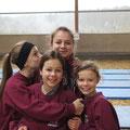 Hannah, Nati, Janina und Lilli