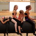 Nati, Angi, Leandra und Sophia