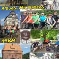 RTC Butzbach: Aschaffenburg - Miltenberg (49 km) vom 18. Juli 2015
