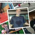 Jahresabschluss-Spiel des GSKC Butzbach vom 28. Dezember 2013