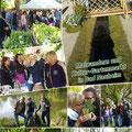 GSKC Butzbach: Maiwanderung mit Kunst-Gartenmarkt in Bad Nauheim vom 30. April 2017
