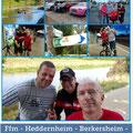 RTC Butzbach: Radtour von Frankfurt/M. nach Wöllstadt vom 25. August 2018