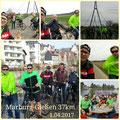 RTC Butzbach: Marburg - Gießen (37 km) vom 01. April 2017