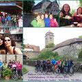 RTC Taubertalradweg → Rothenburg ob der Tauber -Wertheim (116,28 km) von 29. Mai bis 01. Juni 2014