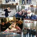 Neujahrswanderung des GSKC Butzbach in Lahnau-Atzbach vom 23.01.2016