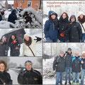 Neujahrswanderung des GSKC Butzbach in Groß-Linden vom 24.01.2015