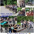 Radtour Hilders - Fulda (36 km) vom 21. Juli 2013