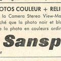 Paru en 1963 dans le programme du Centre culturel de Nivelles