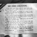 Déclaration du bourgmestre Léon Jeuniaux