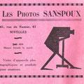 13-14 juillet 1930 - Livret Centenaire de l'Indépendance nationale à Nivelles