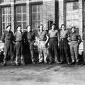 1945-Les Anglais au collège Sainte-Gertrude (photo non signée)