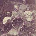 Mai 1923 - Avec Oswald et Maria, les enfants de Firmin + Marguerite (fille d'Oswald)