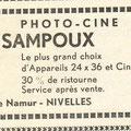 Paru en août 1965 dans le programme des festivités (avec une faute d'orthographe dans le nom)