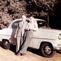 1957 - Avec son fils Pol