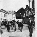 10 septembre 1944 - rue du Cura (photo Horace Piret)