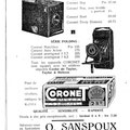 Octobre 1933 - Catalogue du Cercle photographique Entre-Nous