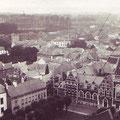 Juin 1930 - Panorama de Nivelles vu du clocher