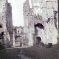 1925 - Villers-la-Ville, les ruines
