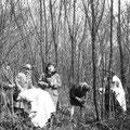 Dans le bois du Spluc avril 1930