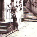 Vers 1930 - Denise, épouse d'Octave, aux 24 Appas