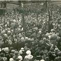 Inauguration du monument aux Français le 18 juin 1933 à Nivelles