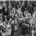 14 h 30 Entrée des Américain le 5 septembre. Ont été identifiés : Jeanine Stainier-Hélène Laloux-Rose Vanderbeken- Lucie François-Hubert Denater-André Grandjean-André Querton-Arthur Desmet-Paul Durieux-Jacques Michel-Gérard Laloux