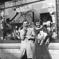 1932 - Il s'agit probablement de M. Rousseau, le tenancier du café d'en face
