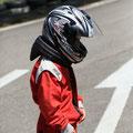 Préparation pour le karting sur la piste de 600 mètres