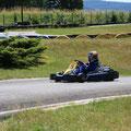 Karting enfants sur la piste de 600 mètres