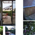 Terrasse  et petit jardin Molenbeek