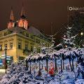Weihnachtsdeko in Oschatz