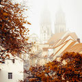 Herbstnebel in Oschatz