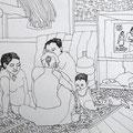 Siam III (Die Familie). 2012.
