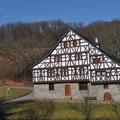 Haus Enkrich vor dem Museumsweinberg