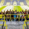 Gruppenfoto Stadion
