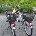 Si-Zweirad mit Basil Körbe