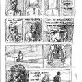 Bocetos para cómic