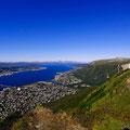 Mit einem Superweitwinkel sieht Tromsø noch viel größer aus.