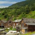 Bootshäuser bei Tjoflot
