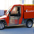 Die Königliche Post hat schon nette Fahrzeuge.