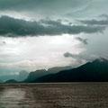 Die Wolken wirken mystisch.