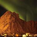 Fotomontage auf den Lofoten 2012