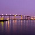 Die berühmte Tromsöbrücke am Abend....