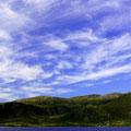 Interessante Wolkenformationen und eine grandiose Felskulisse umgibt uns.
