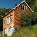 Unser Ferienhaus in Naustflot - Gult Huset.