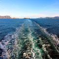 Im Fahrwasser der MS Polarlys verschwand die norwegische Küste in der Ferne.
