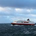 Immer ein Erlebnis - diesmal die nordgehende Hurtigrute.