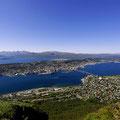 Blick auf Tromsø vom Storhaugen.
